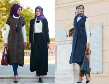 بالصور ملابس محجبات تركية , اجمل الملابس التركيه للمحجبات 3136 6