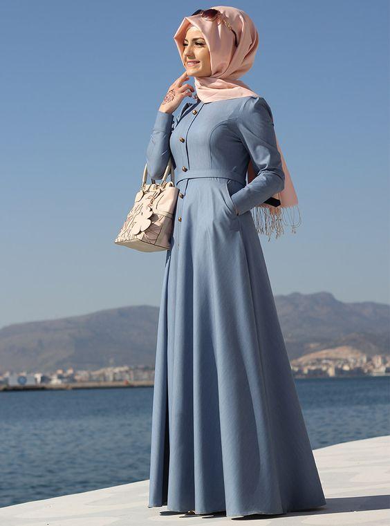 بالصور ملابس محجبات تركية , اجمل الملابس التركيه للمحجبات 3136 8