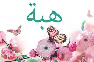 صوره معنى اسم هبة , تفسير معني اسم هبه