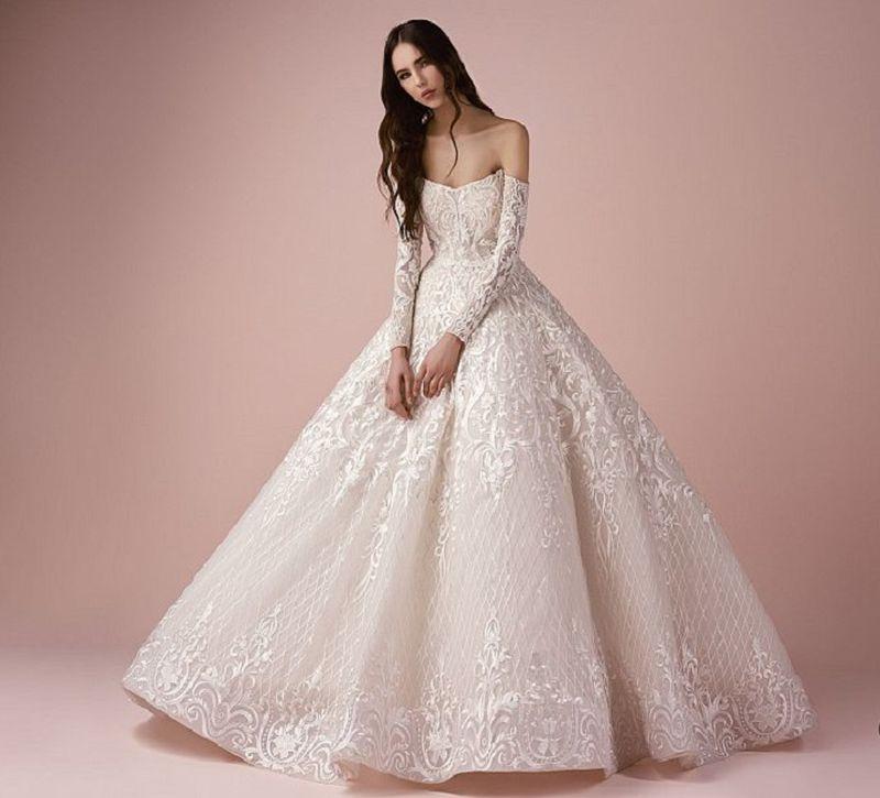 صورة صور فساتين عرايس , اجمل موديلات الفساتين الخاصه بالعروس