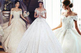 صوره صور فساتين عرايس , اجمل موديلات الفساتين الخاصه بالعروس