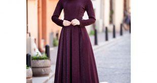 صوره فساتين تركية للمحجبات , اجمل موديلات الفساتين التركي