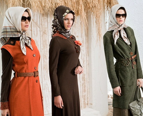 بالصور موديلات حجابات جزائرية مخيطة , حجابات الجزائر احتشام 2944 10