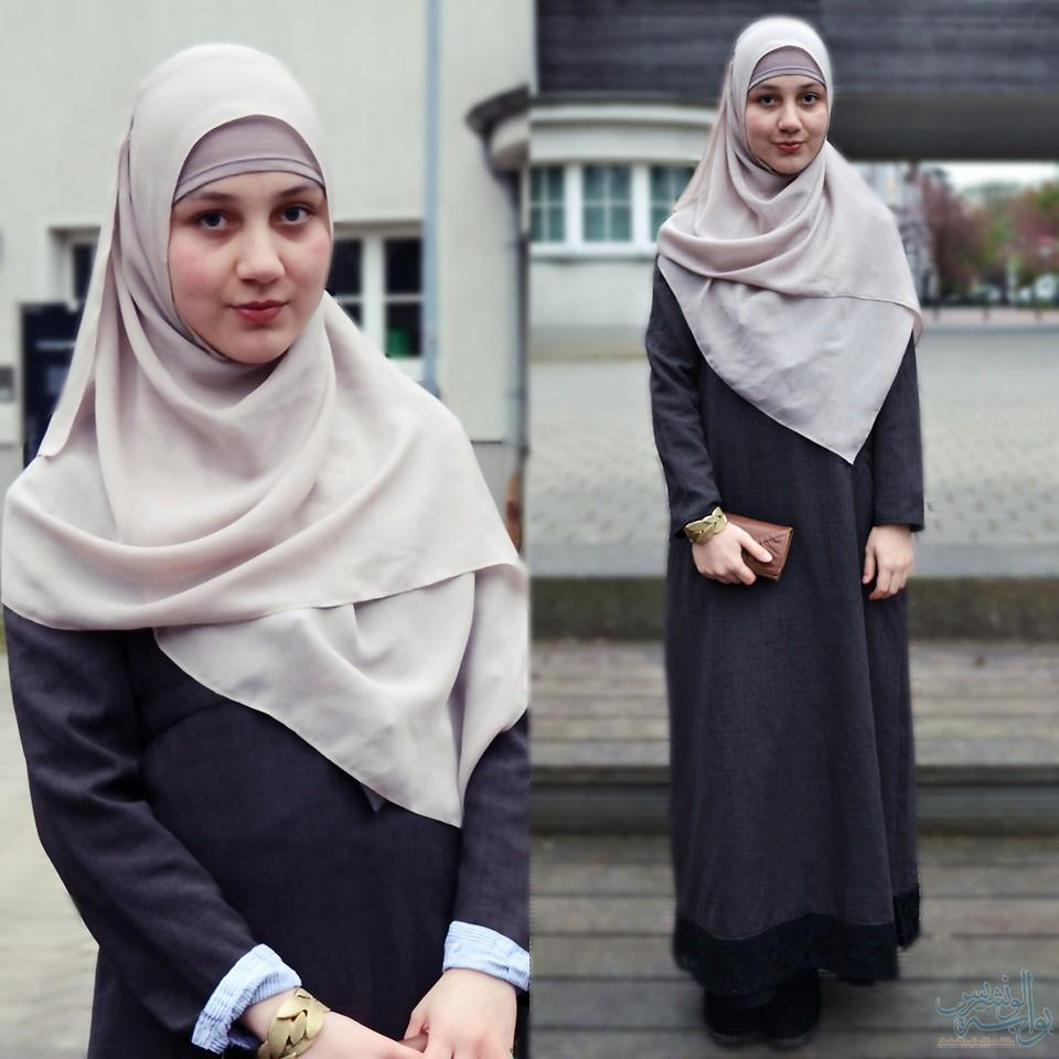 بالصور موديلات حجابات جزائرية مخيطة , حجابات الجزائر احتشام 2944 4