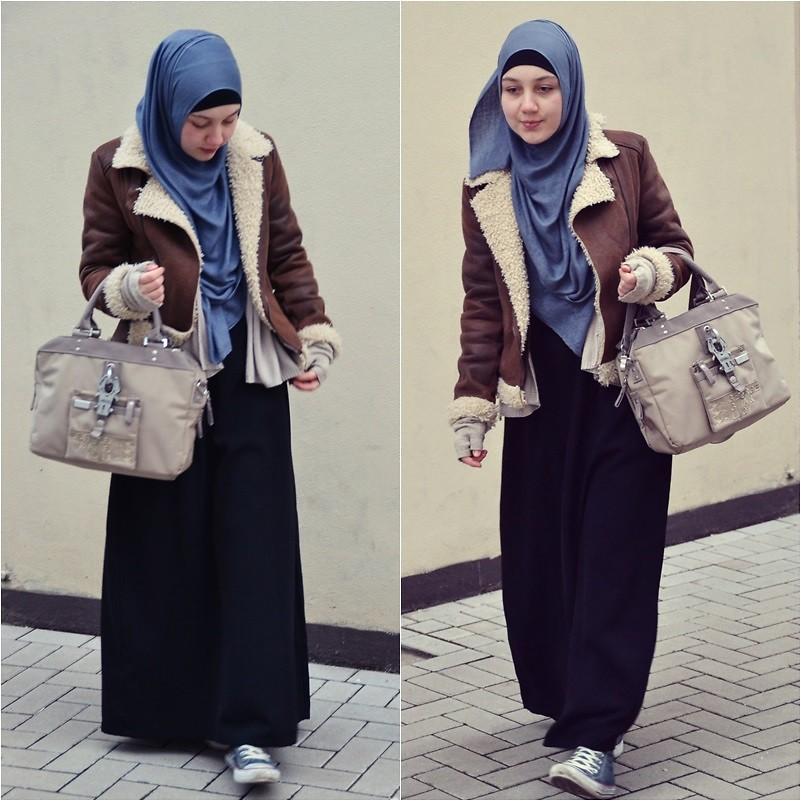 بالصور موديلات حجابات جزائرية مخيطة , حجابات الجزائر احتشام 2944 6