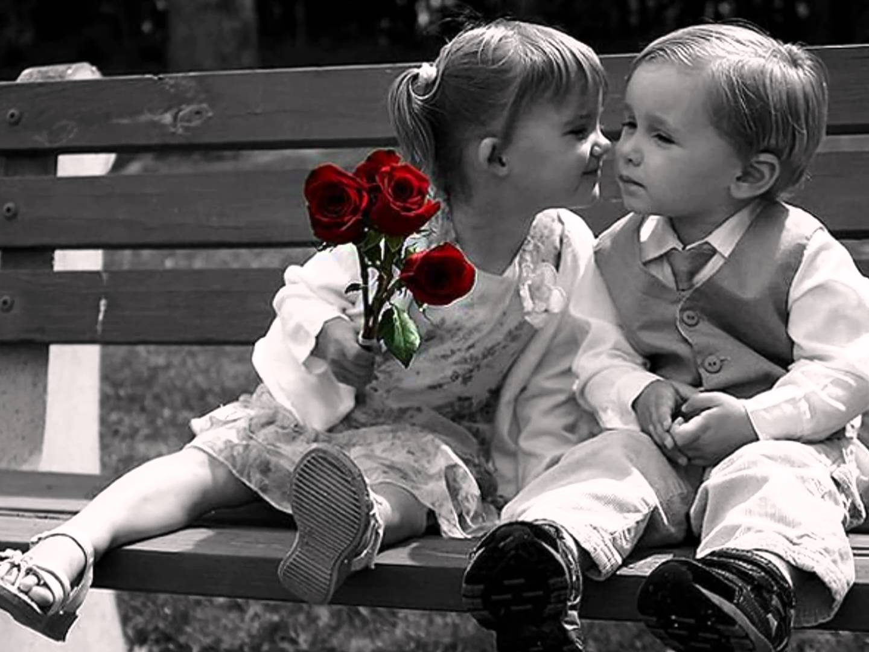 بالصور صور ولد وبنت , الحب الصادق في الطفوله 3063 3