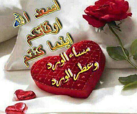 بالصور رسائل مساء الخير حبيبي , حبيبتي الغاليه مساء السعاده 4084 3