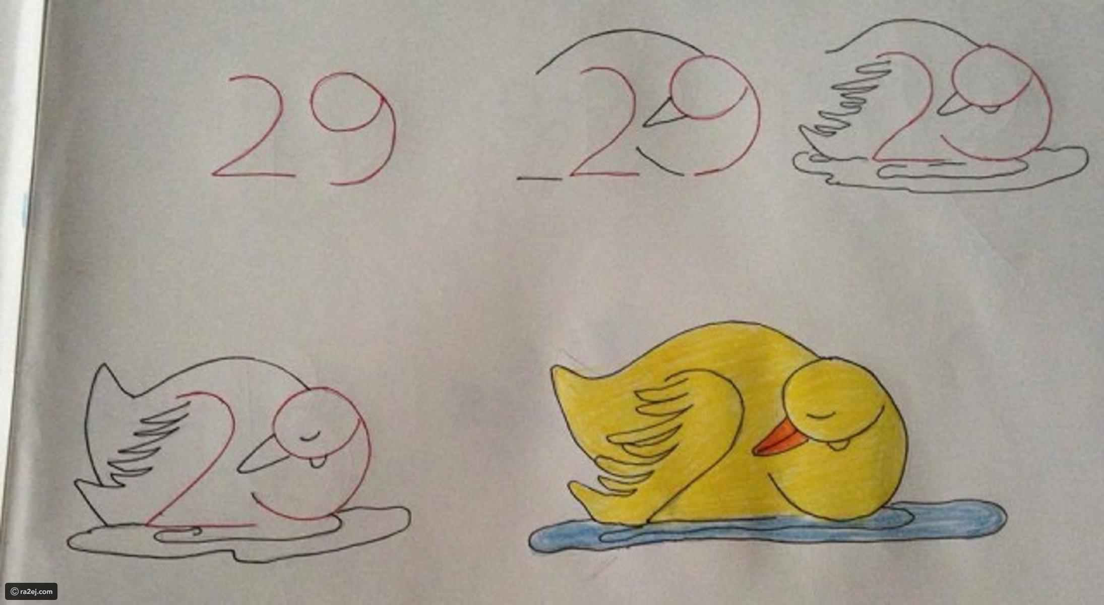بالصور اجمل رسومات , صور ابداعات الرسومات للاطفال 4085 11