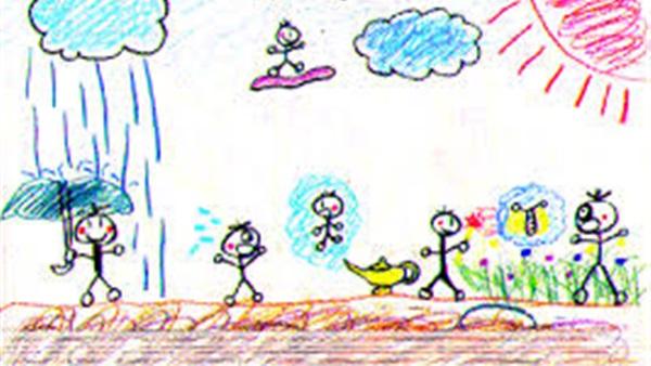 بالصور اجمل رسومات , صور ابداعات الرسومات للاطفال 4085