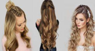 بالصور تسريحات الشعر الطويل , اطلالات رائعه لصاحبات الشعر الطويل 4096 13 310x165