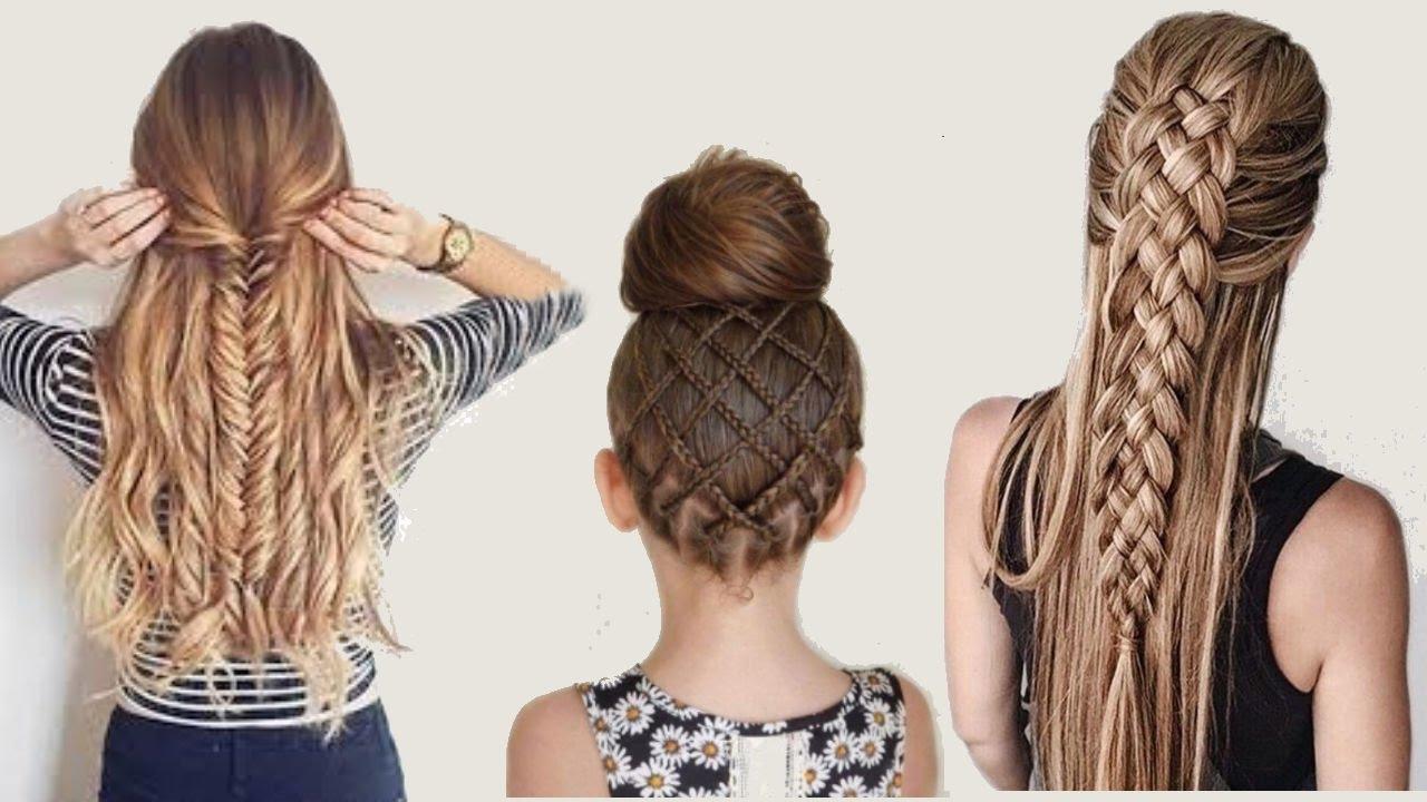 صورة تسريحات الشعر الطويل , اطلالات رائعه لصاحبات الشعر الطويل 4096 7