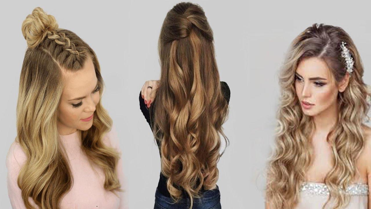صور تسريحات الشعر الطويل , اطلالات رائعه لصاحبات الشعر الطويل