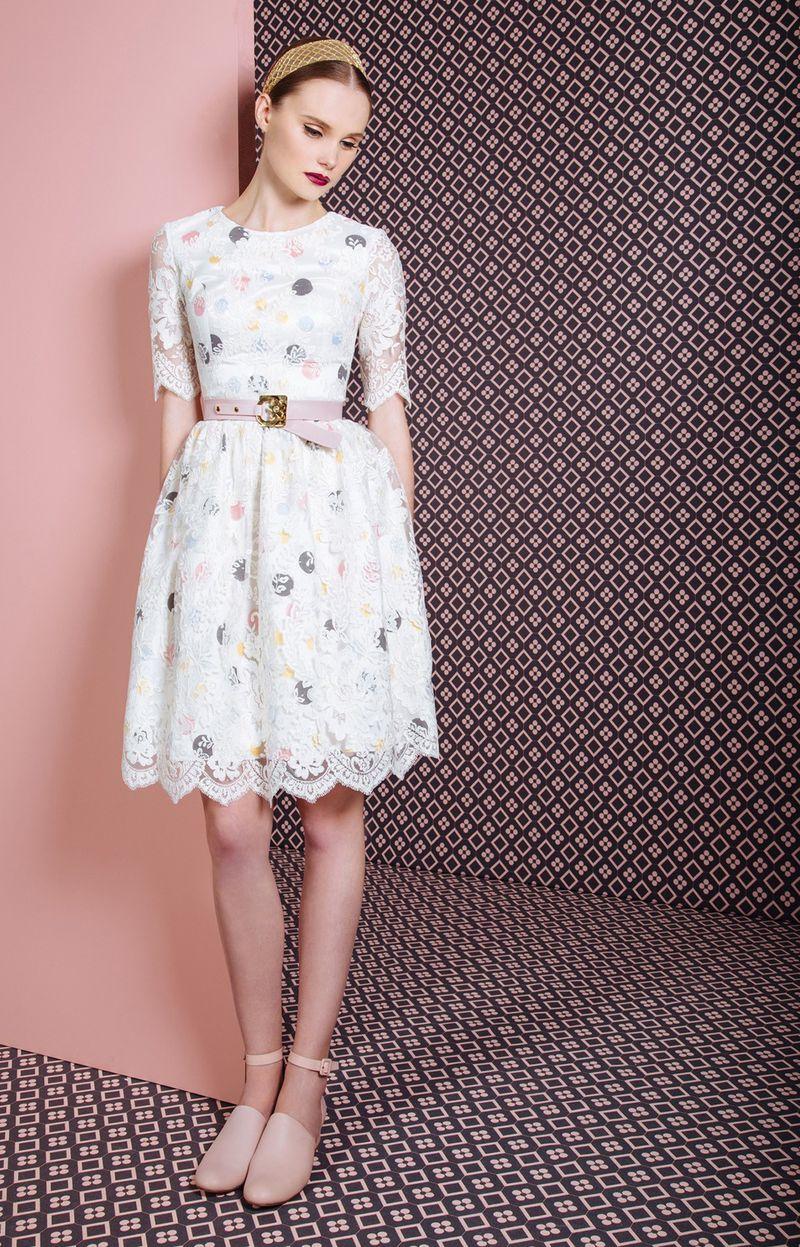 بالصور فساتين سهرة قصيرة 2019 , احدث موديلات الفساتين السواريه 1880 10