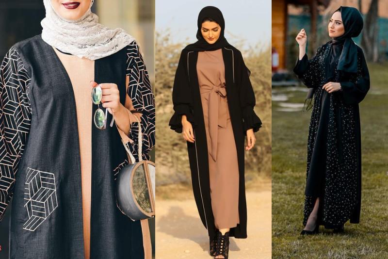 بالصور عبايات اماراتية , اشيك العبايات الامارتي لعام 2019 4093 8