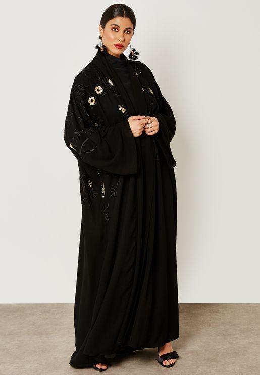 بالصور عباية اماراتية , خامات امارتيه ذات جوده عاليه 6087 8