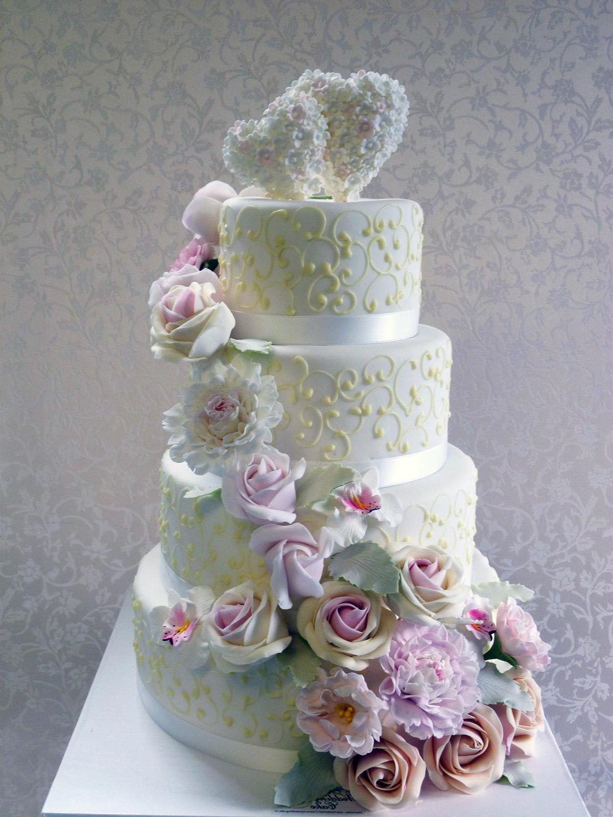 بالصور اجمل تورته فى العالم , تورتات حفلات الزفاف 6093