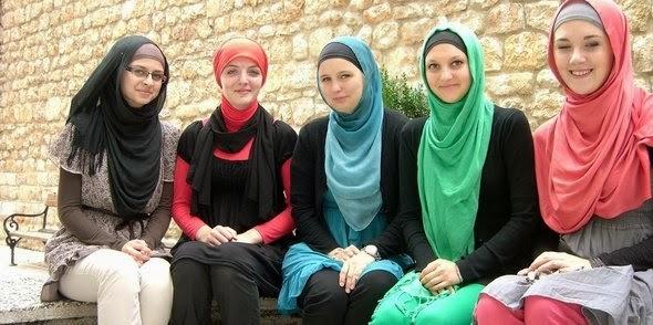 بالصور اجمل بنات محجبات فى العالم , اجمل اجنبيات محجبات حجاب شرعي 6102 4