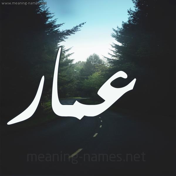 بالصور صور اسم عمار , معني اسم عمار واول من سمي به 6166 3