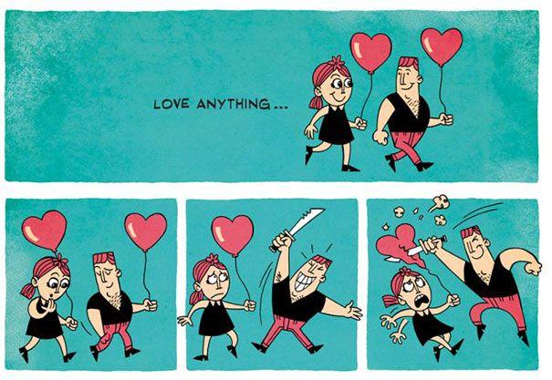 بالصور صور مضحكة عن الحب , صور رومانسيه مضحكه 6167 10