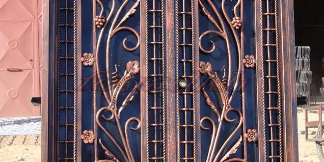 صور صور ابواب حديد , تشكيلة رائعة من اجمل اشكال الابواب الحديدية