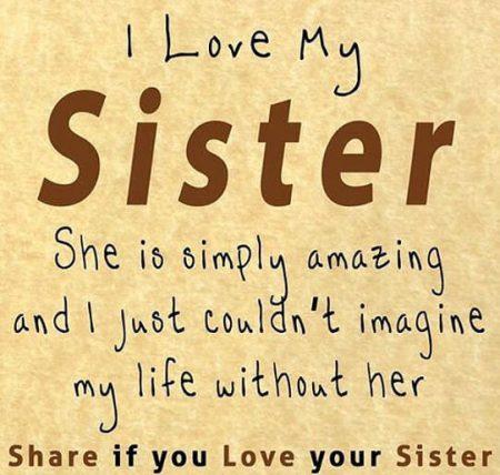 بالصور كلمات عن الاخت الحنونة , اجمل ما قبل عن الاخت 1855 8
