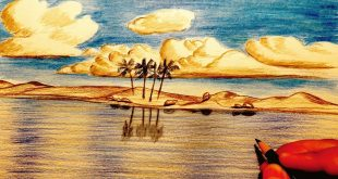 بالصور رسم منظر طبيعي , مناظر خلابه ترسم باليد 1947 12 310x165