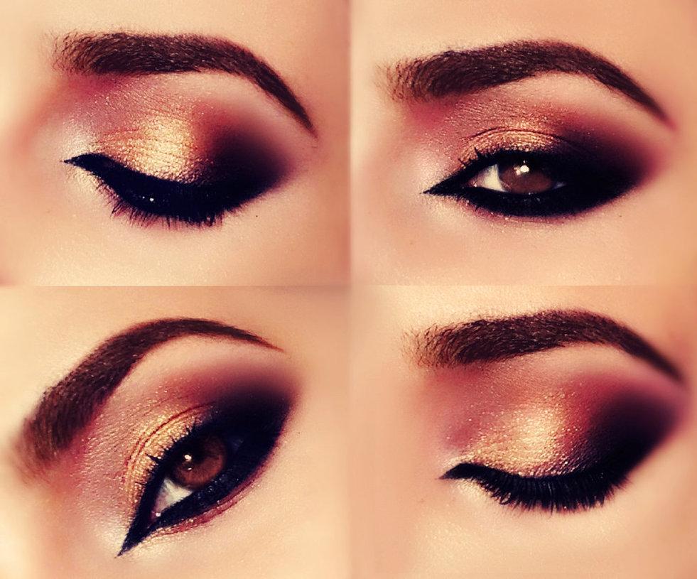 صورة مكياج عيون لبناني , تحديد جمال العين بالمكياج