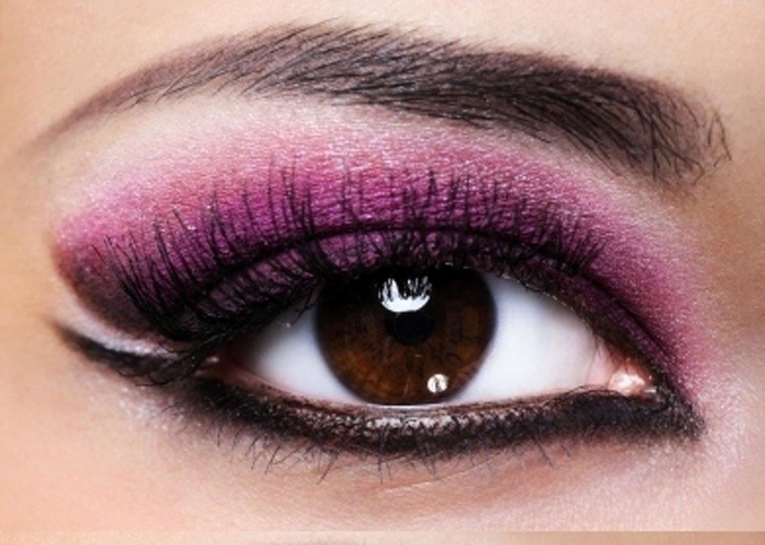 صور مكياج عيون لبناني , تحديد جمال العين بالمكياج