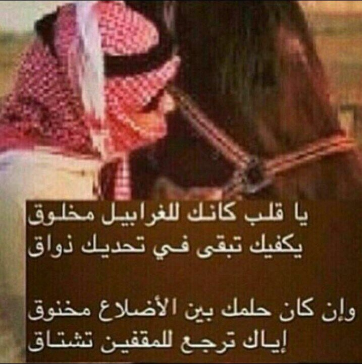 بالصور شعر بدوي غزل , جزء جميل من الشعر البدوى