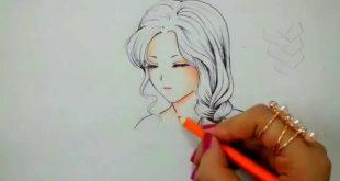 صورة رسم انمي , شخصيات كرتونيه بالرسم باليد