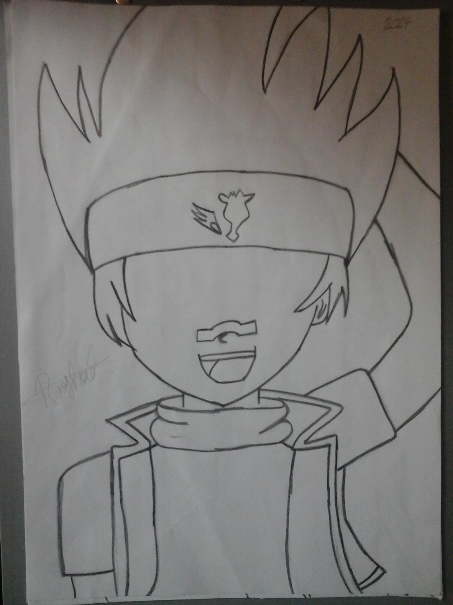 بالصور رسم انمي , شخصيات كرتونيه بالرسم باليد 3896 5