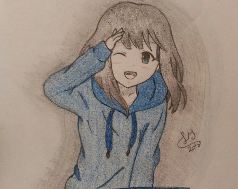بالصور رسم انمي , شخصيات كرتونيه بالرسم باليد 3896 9