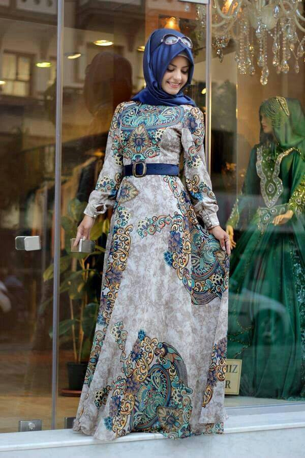 بالصور فساتين تركية , الاتراك وطريقه ملابسهم فى الفساتين 4685 6