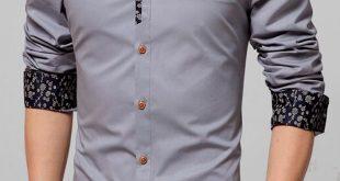 صورة قميص رجالي , تفصيلات قمصان رجالى جديده وشبابيه
