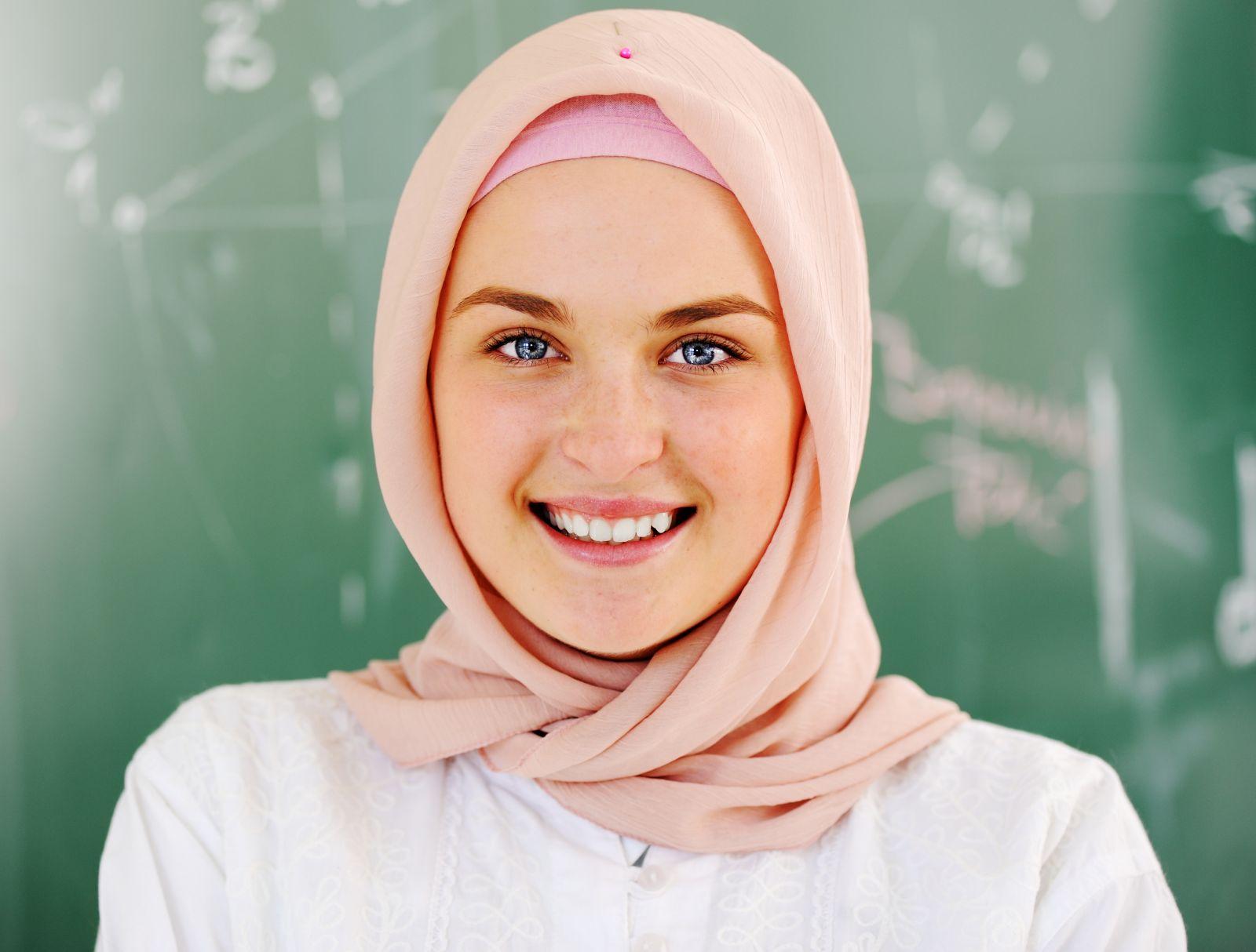 بالصور اجمل محجبات , جمال البنات المحجبه فى صور لها 5128 1