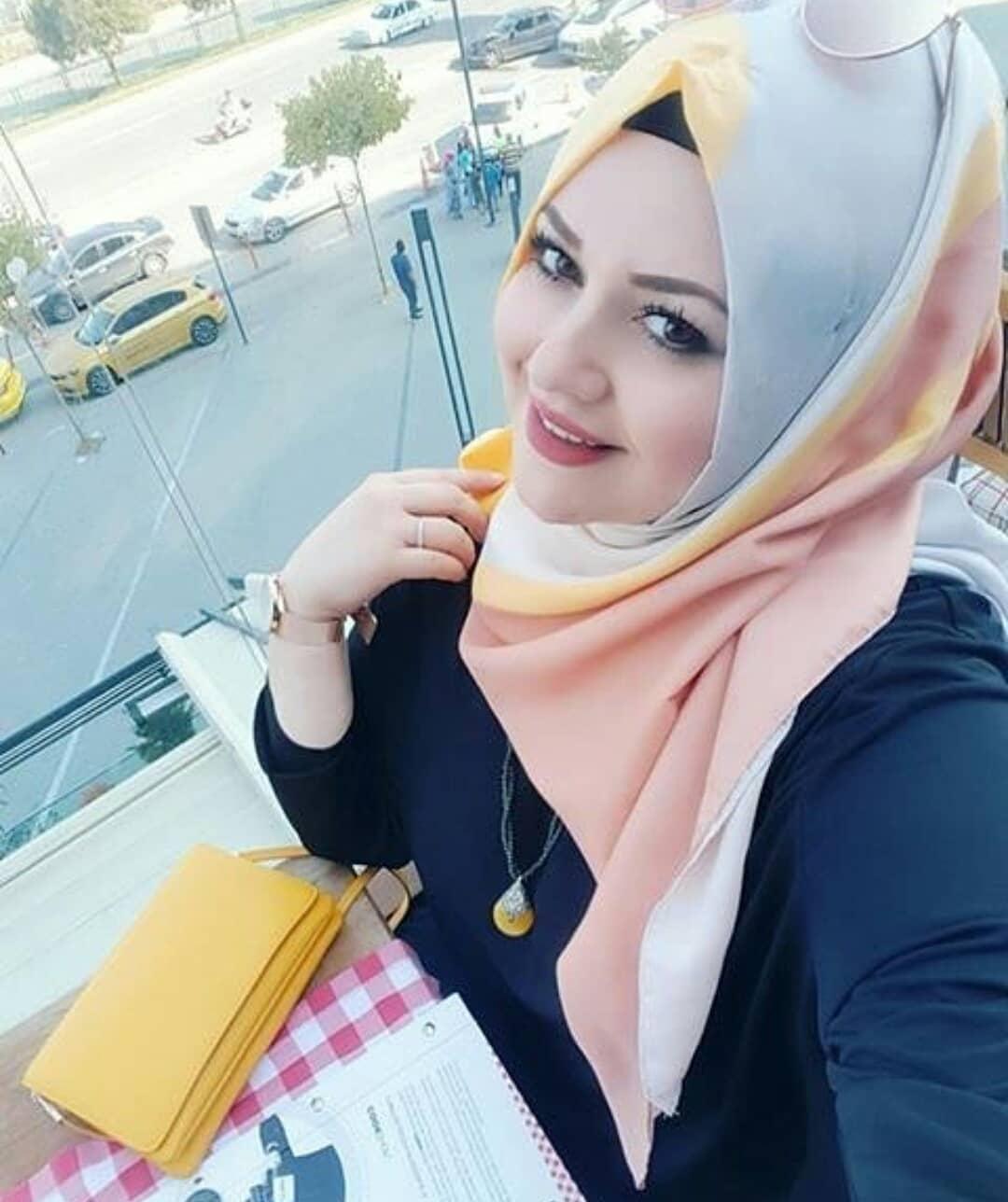بالصور اجمل محجبات , جمال البنات المحجبه فى صور لها 5128 11
