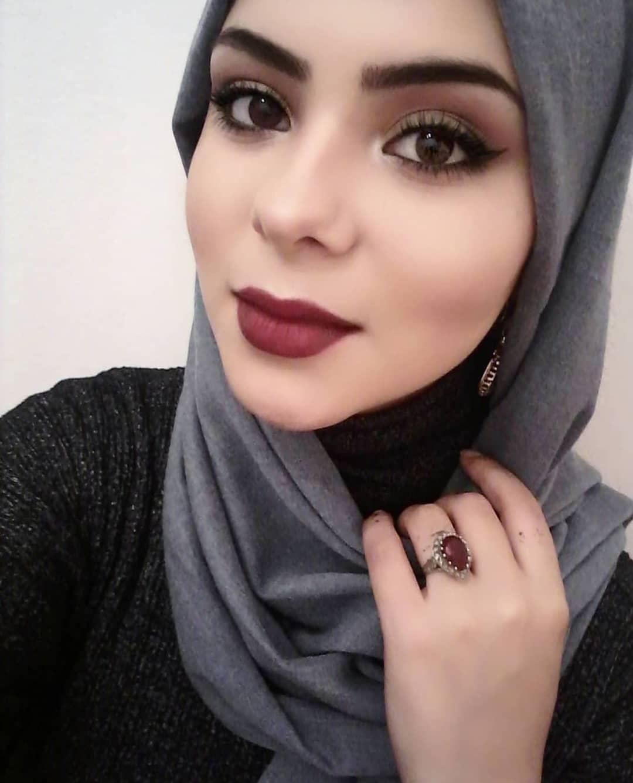 بالصور اجمل محجبات , جمال البنات المحجبه فى صور لها 5128 14