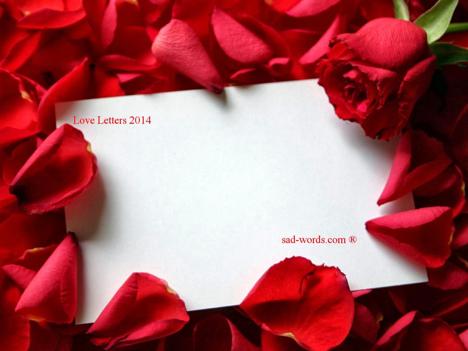 بالصور رسالة حب , التعبير عن حبك واشواقك فى رساله 5421 10