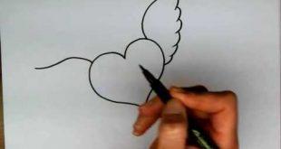 صورة رسومات سهله وحلوه , الرسم فن جميل