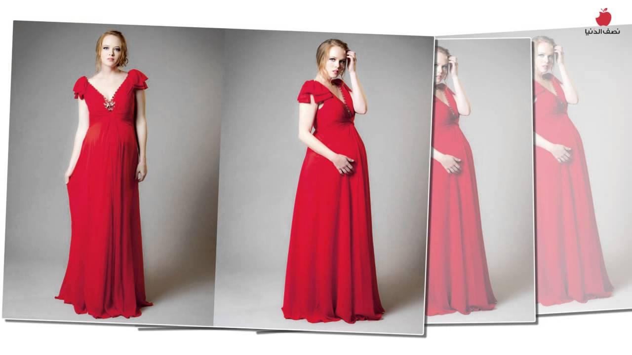 بالصور فساتين اعراس للحوامل , اجمل ملابس الحوامل 888 1