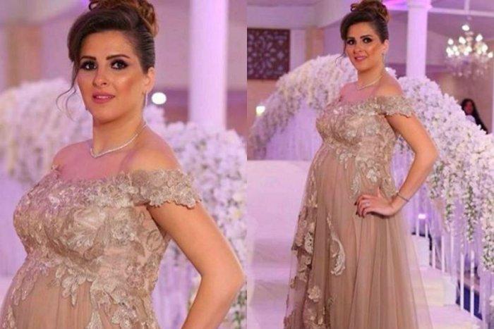 بالصور فساتين اعراس للحوامل , اجمل ملابس الحوامل 888 2