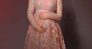 صور فساتين اعراس للحوامل , اجمل ملابس الحوامل
