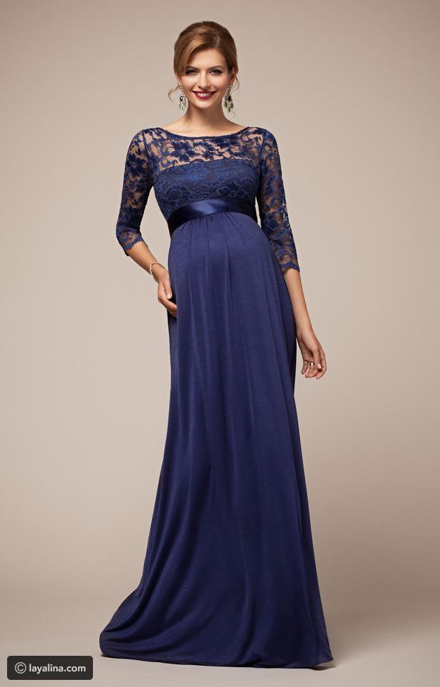 بالصور فساتين اعراس للحوامل , اجمل ملابس الحوامل 888 3