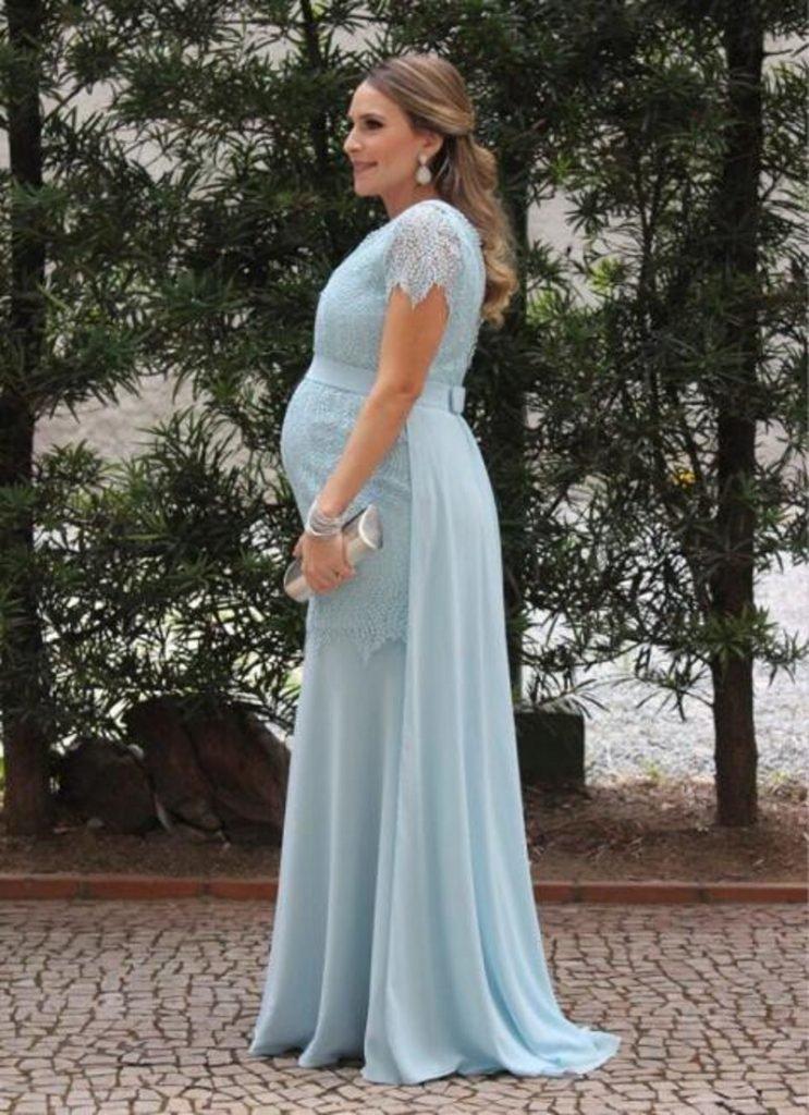 بالصور فساتين اعراس للحوامل , اجمل ملابس الحوامل 888 5