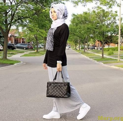 صورة ملابس بنات محجبات , اجمل ملابس محجبات