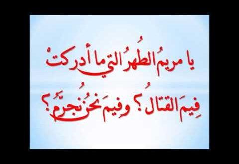صورة معنى اسم مريم , البتول الطاهره العذراء