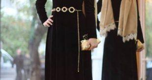 بالصور اجمل الفساتين للمحجبات , اشيك انواع الفساتين للمحجبات 5475 13 310x165
