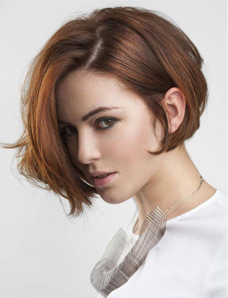 بالصور احدث تسريحات للشعر القصير , اجمل تسريحات الشعر الجميله 11981 3