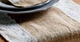 صور اعمال يدوية بالخيش للمطبخ , اجمل الاعمال اليدوية بالخيش للمطبخ