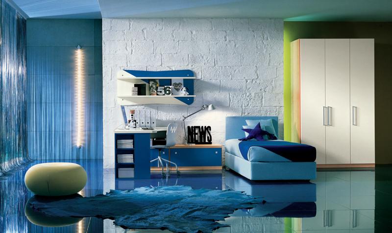 بالصور اجمل غرف النوم , غرف نوم شبابيه عمليه 2439 6